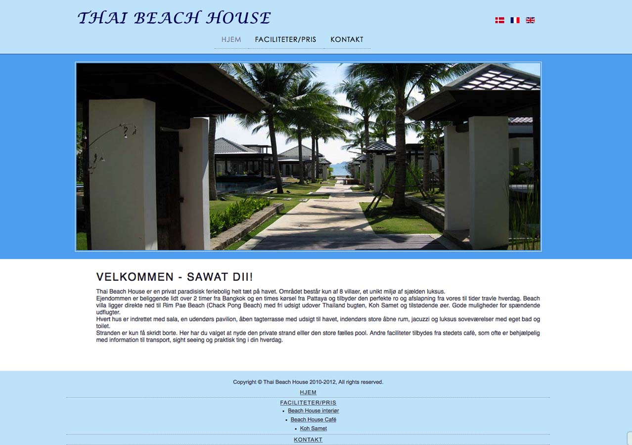 Thai Beach House - Multi sprog