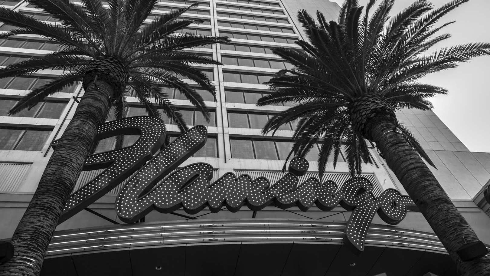 Hotel at the strip in Las Vegas